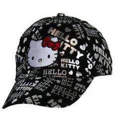 Sapca Hello Kitty negru/ argintiu