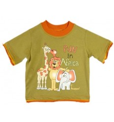 Tricou Safari Fun in Africa_HooligansKids