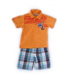 Compleu pantalon scurt si tricou RockStarLegend