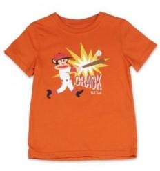 Tricou baieti portocaliu_Paul Frank