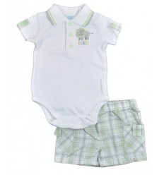 Set body si pantalon scurt Baby Kids Headquarters