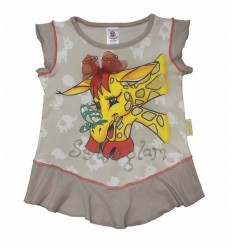 Top bej Safari Glam Giraffe_Hooligans Kids