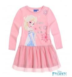 Rochie eleganta Elsa Frozen cu tulle