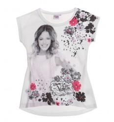 Tricou Disney Violetta alb