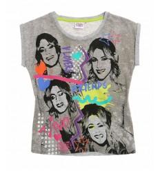 Tricou Disney Violetta gri