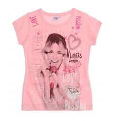 Tricou Disney Violetta roz