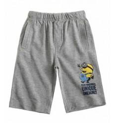 Pantaloni scurti Minioni gri