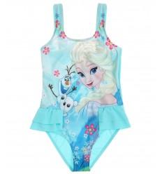 Costum de baie copii Frozen bleu