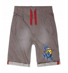 Pantaloni bermude Minions gri