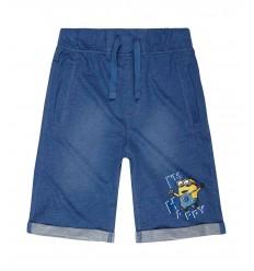 Pantaloni bermude Minions bleumarin