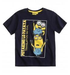 Tricou Minioni bleumarin