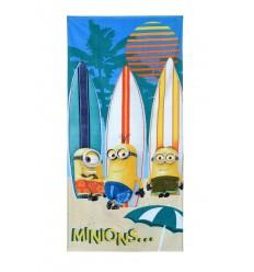 Prosop plaja copii cu Minions