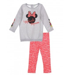 Compleu tricou si leggins Minnie Mouse