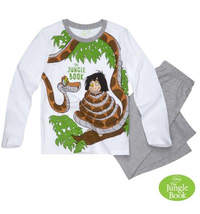 Pijama cu maneca lunga baieti Cartea Junglei