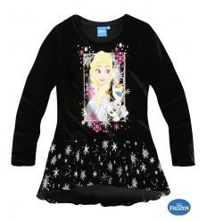 Bluza fete Elsa Frozen neagra