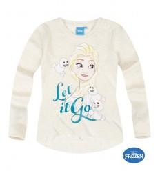 Bluza maneca lunga Elsa Frozen bej