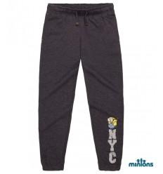Pantaloni trening baieti Minioni gri