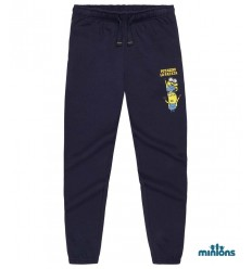 Pantaloni trening baieti Minions bleumarin