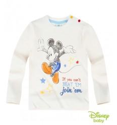 Bluza Disney Mickey alb