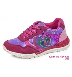 Adidasi fete Agatha Ruiz de la Prada roz 161965B