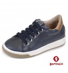 Pantofi sport baieti Garvalin albastru 161755A