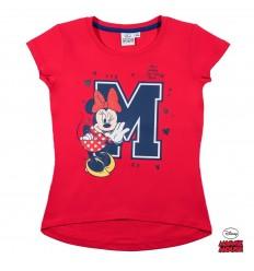 Tricou fete Disney Minnie Mouse rosu