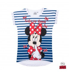 Tricou fete Disney Minnie Mouse alb