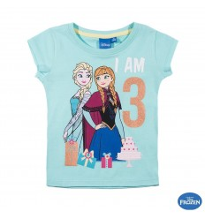 Tricou aniversar Frozen 3 ani