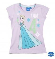 Tricou aniversar Frozen 4 ani