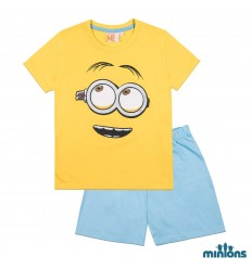 Pijamale copii Minioni galben