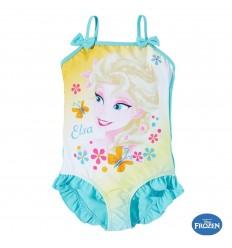 Costum de baie copii Elsa Frozen turcoaz