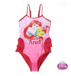 Costum de baie roz Disney Princess Ariel