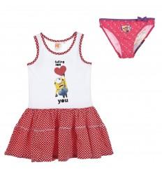 Set plaja fete Minions rosu