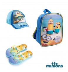 Set cadou de plaja baieti 3 - 6 ani Minions