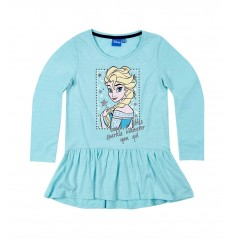 Bluza tunica Disney Frozen bleu
