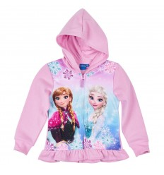 Hanorac cu gluga Disney Frozen roz