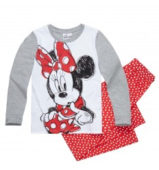 Pijamale fete cu maneca lunga Disney Minnie Mouse