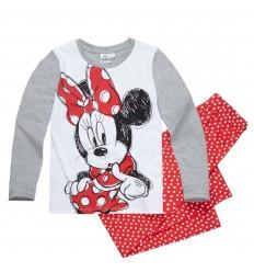 Pijamale fete cu maneca lunga Disney Minnie Mouse