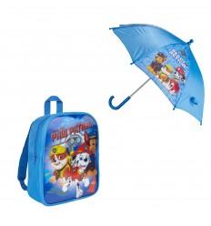 Set cadou rucsac si umbrela Patrula Catelusilor