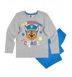 Pijamale copii Patrula Catelusilor gri/ albastru