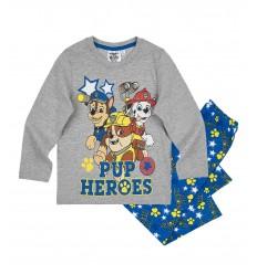 Pijamale Patrula Catelusilor gri/ albastru PUP