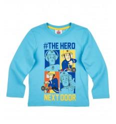 Bluza baieti Pompierul Sam bleu