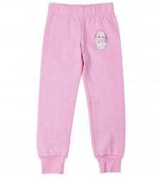Pantaloni trening fete Frozen roz