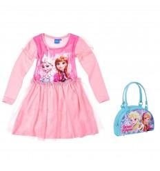 Set cadou fetite rochita roz si gentuta de umar Frozen