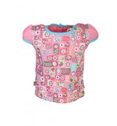 Tricou fete imprimeu floral_Bright Bots