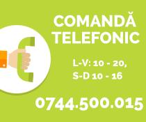 Comanda telefonic la Zdubi.ro